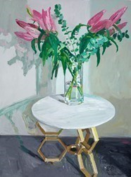 First Bloom by Leila Barton -  sized 18x24 inches. Available from Whitewall Galleries